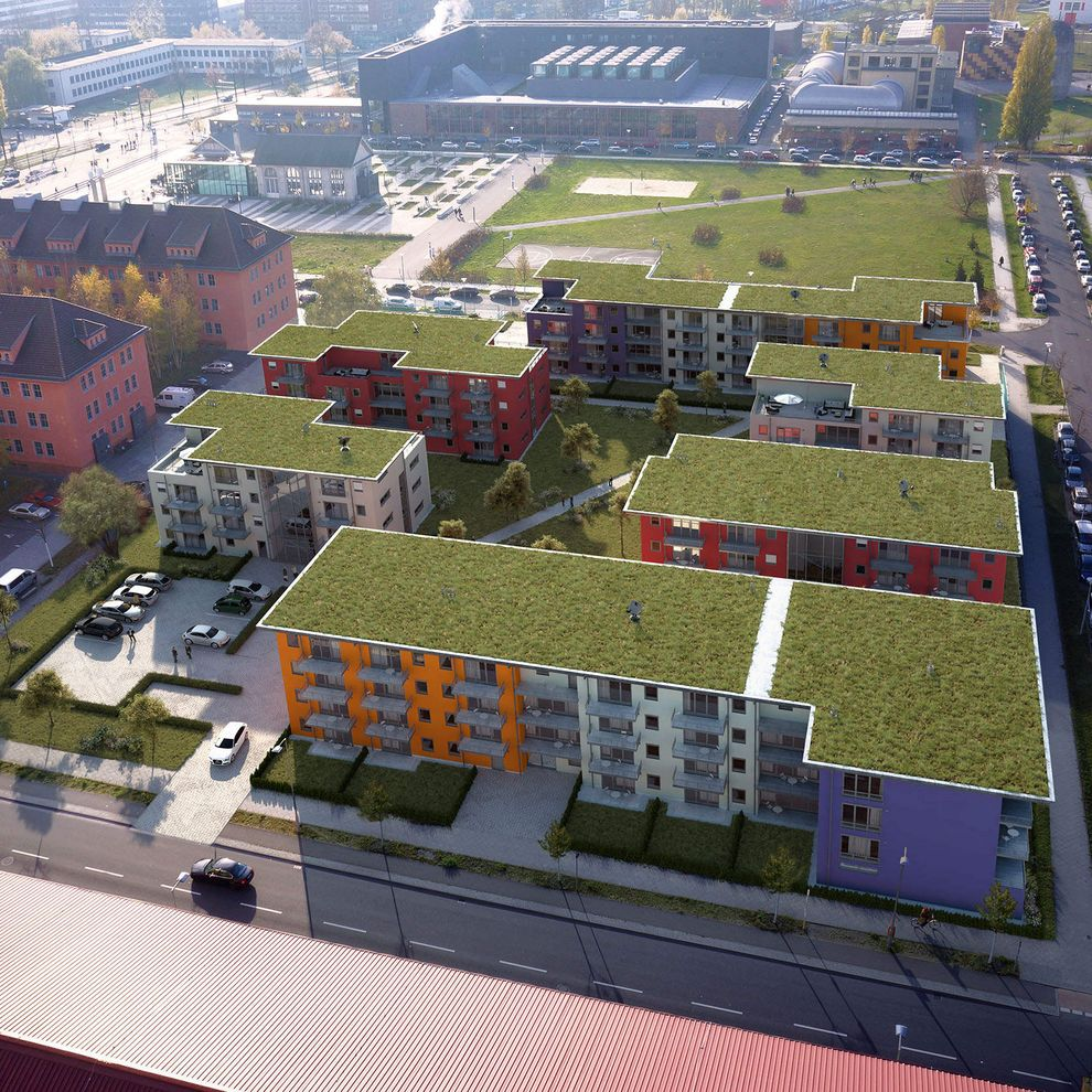 Adapt Apartments in Berlin | 3D Architekturvisualisierung von gmsvision